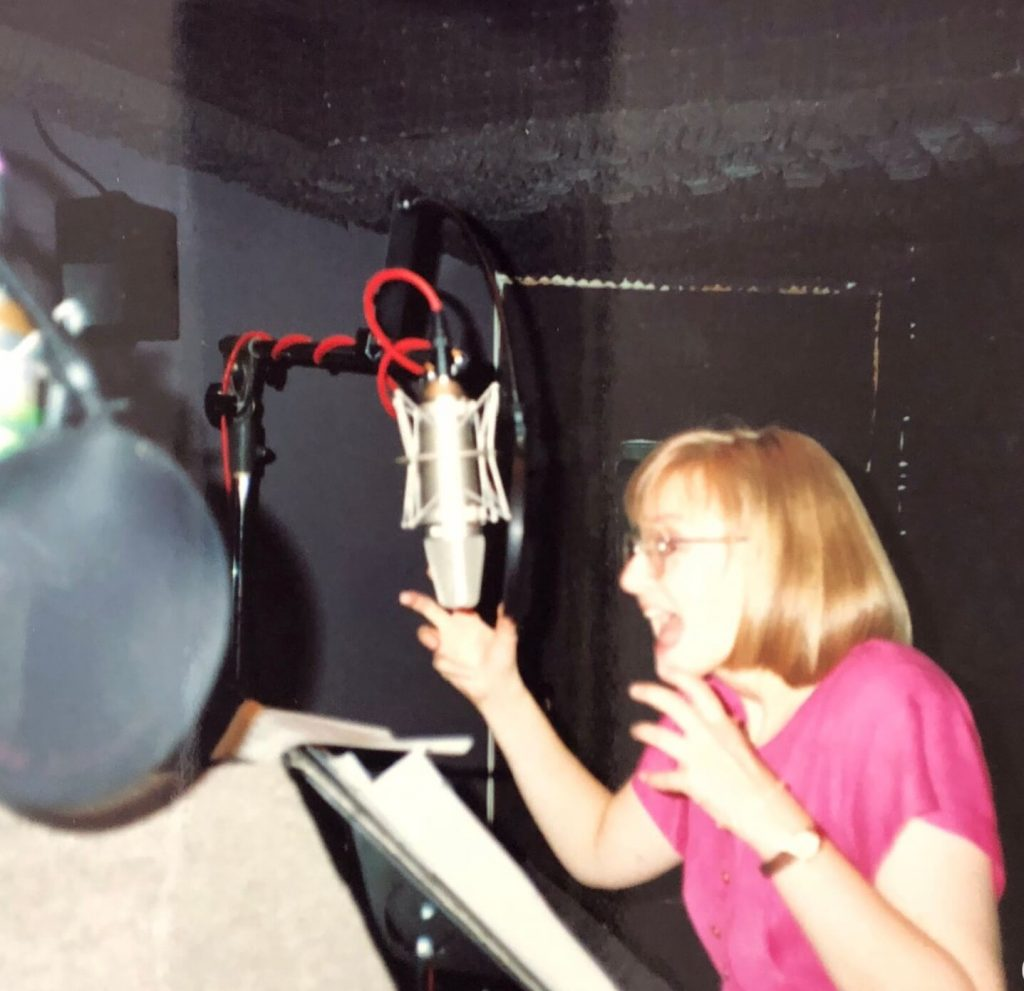 pictures of me in the recording session